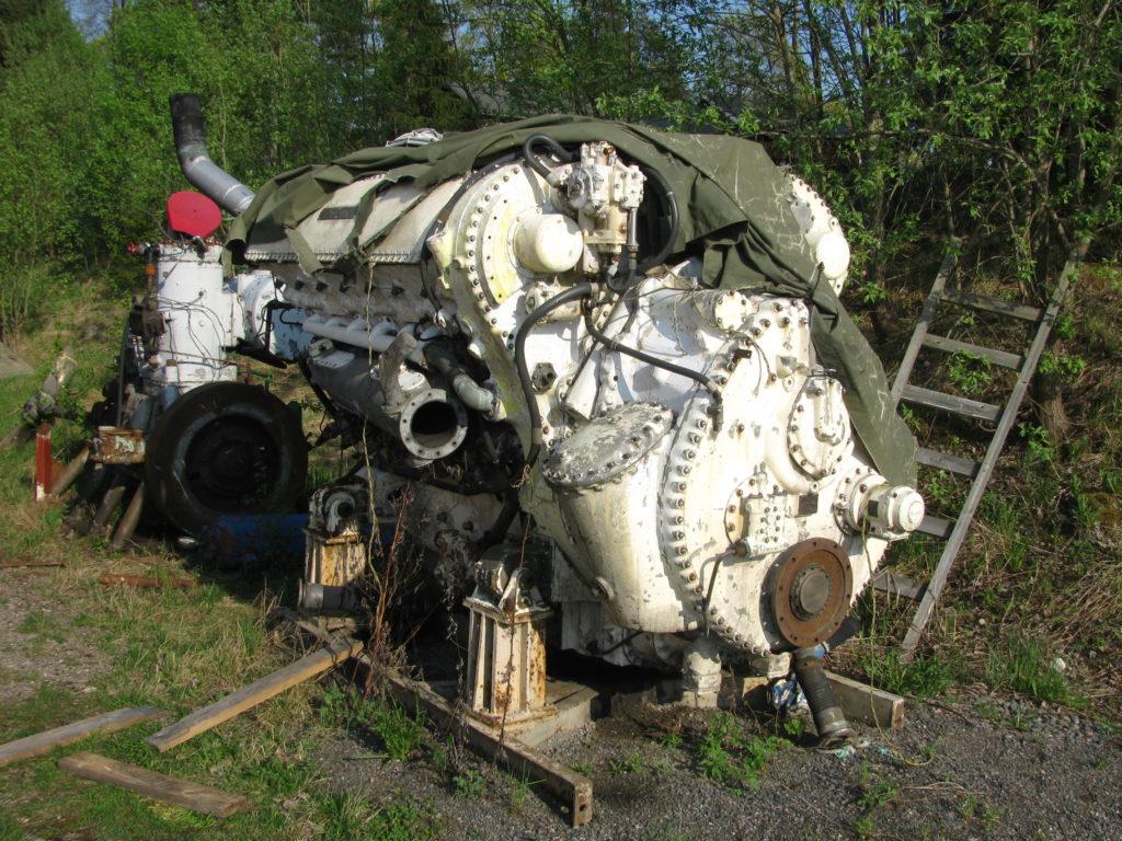 marine scrap metal - boat motor