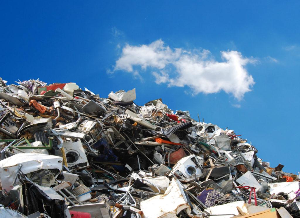 scrap metal saving the environment