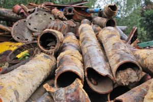 iron for scrap metal recycling