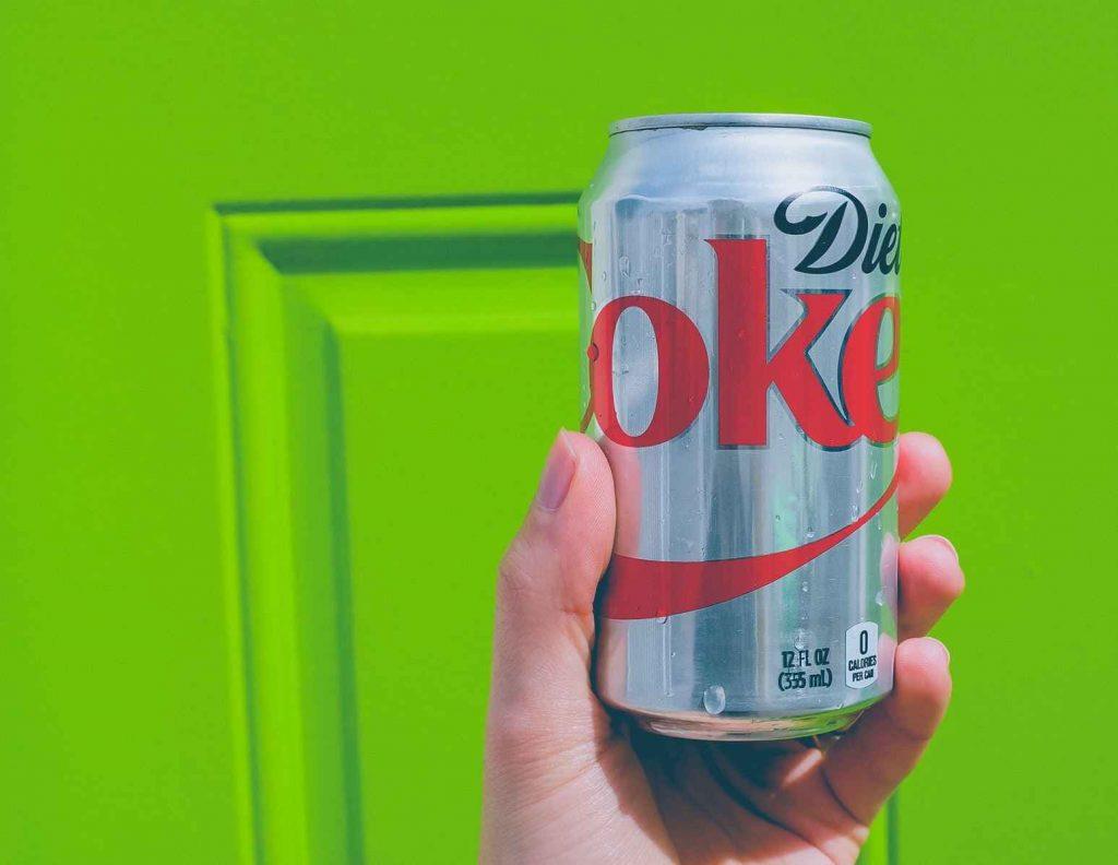 coke diet bottle - aluminum recycling